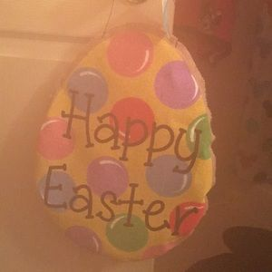 Other - Happy Easter hanging sign